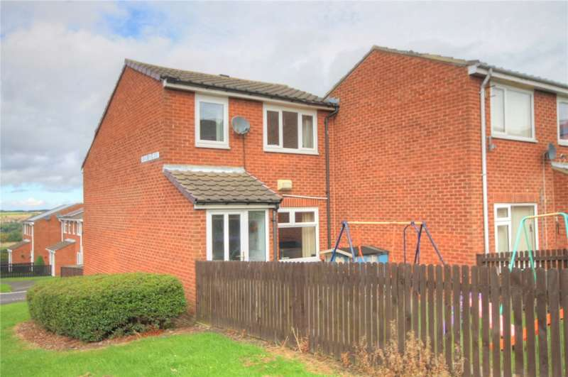 2 Bedrooms End Of Terrace House for sale in Bracken Close, Stanley, DH9