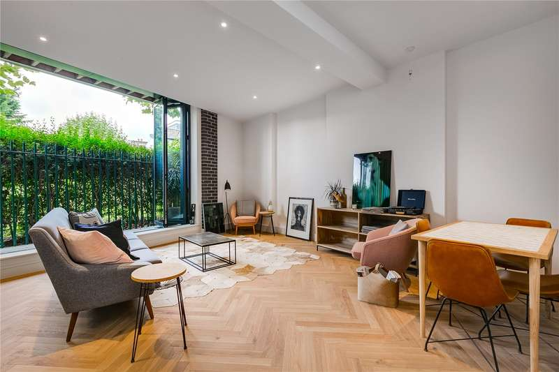 2 Bedrooms Ground Flat for sale in Hunts Paper Factory, Atalanta Street, SW6