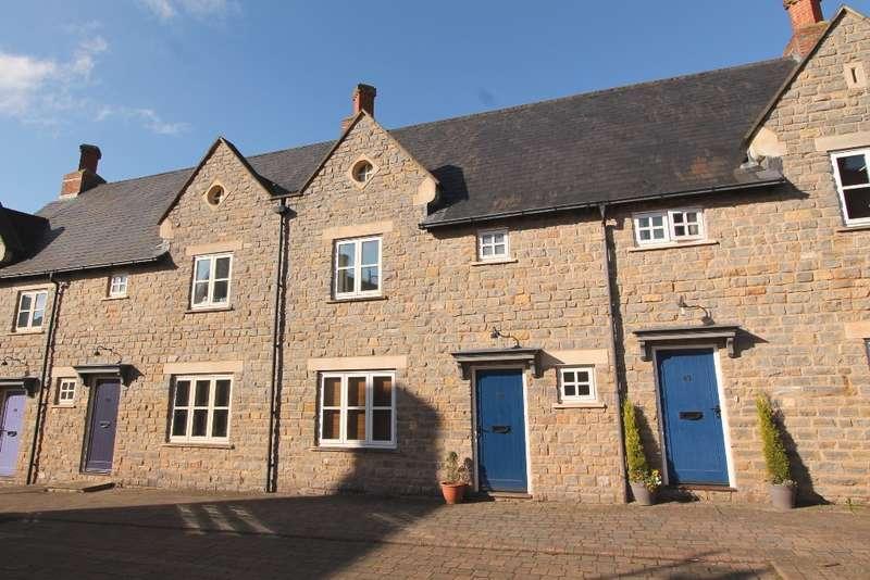 3 Bedrooms Terraced House for sale in Blackberry Way, Midsomer Norton
