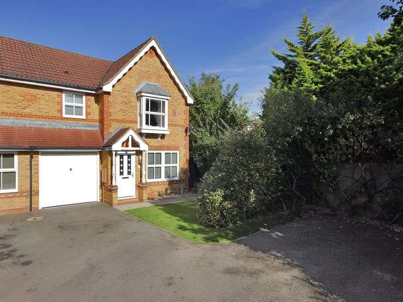 3 Bedrooms Semi Detached House for sale in Phillips Close, Maidenbower, Crawley, West Sussex