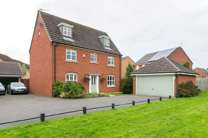 5 Bedrooms Detached House for sale in Holcroft Drive, Abram, WN2 5YP
