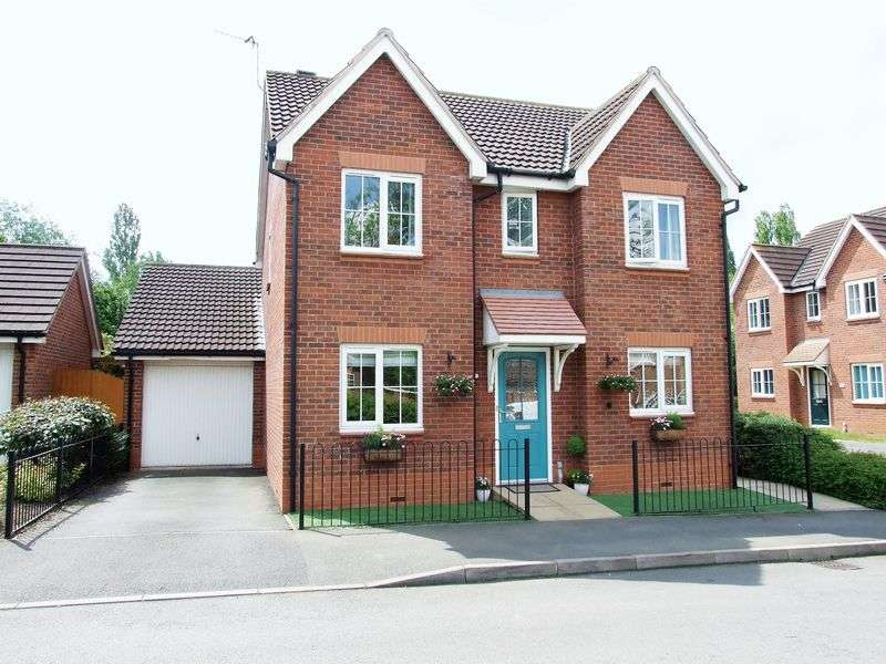 4 Bedrooms Detached House for sale in Abbey Close, Shepshed