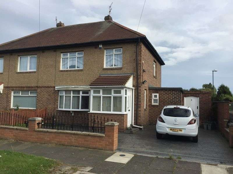 3 Bedrooms Semi Detached House for sale in Grasmere Avenue, Jarrow