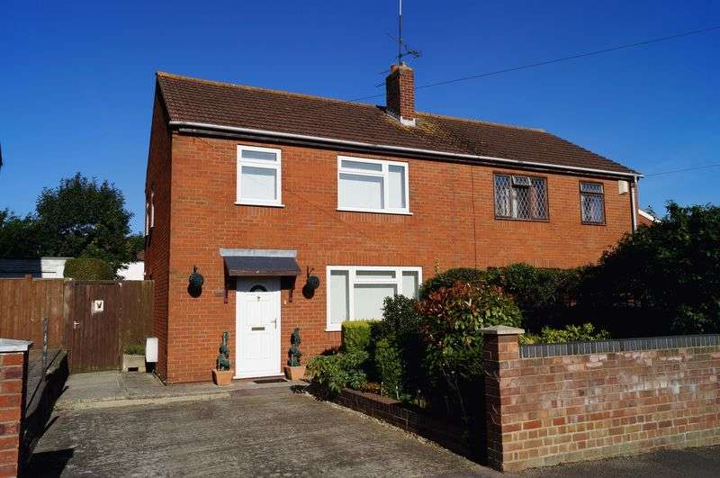 3 Bedrooms Semi Detached House for sale in Larkhay Road, Hucclecote, Gloucester
