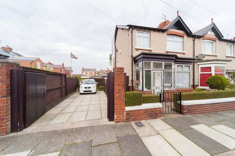 3 Bedrooms Semi Detached House for sale in Hedley Avenue, Blyth
