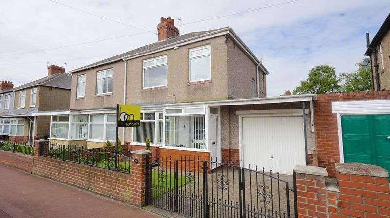 3 Bedrooms Semi Detached House for sale in NEWTON ROAD High Heaton