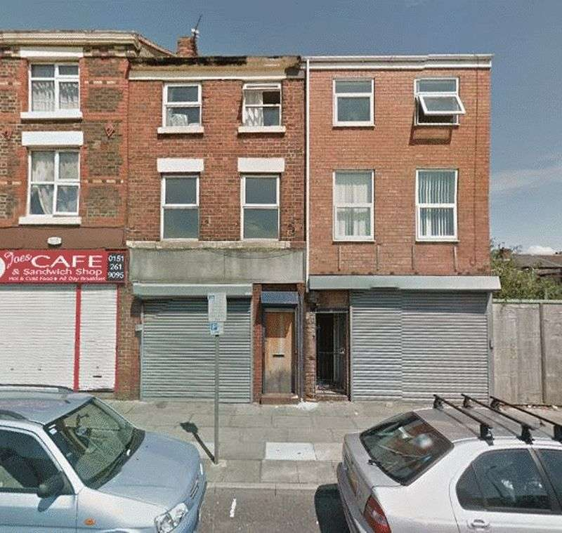 1 Bedroom Flat for sale in 24 Breckfield Road North, Liverpool - For sale by auction 26th October 2016