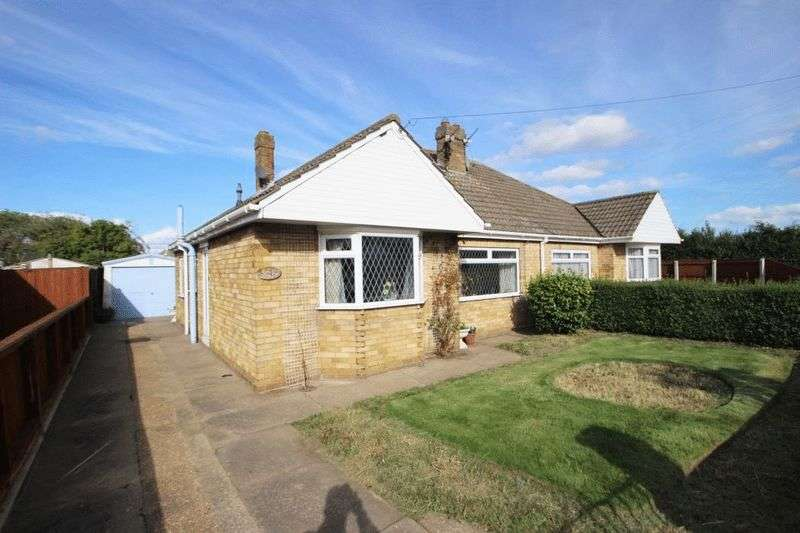 2 Bedrooms Semi Detached Bungalow for sale in TOWNSEND CLOSE, HUMBERSTON