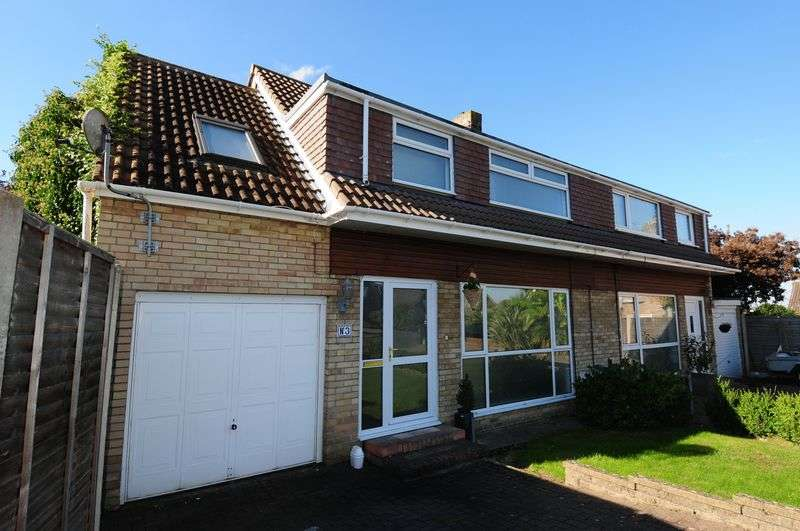 4 Bedrooms Semi Detached House for sale in Ravenhead Drive, Whitchurch Park, Bristol, BS14