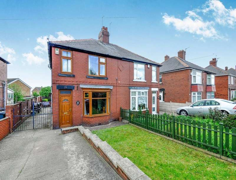 3 Bedrooms Semi Detached House for sale in Ardsley Road, Worsbrough, Barnsley, S70