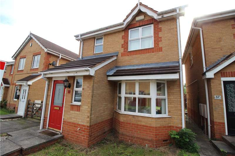 3 Bedrooms Detached House for sale in Dewchurch Drive, Sunnyhill, Derby, Derbyshire, DE23