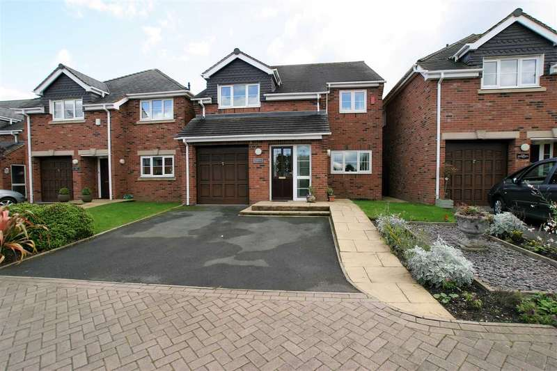 4 Bedrooms Detached House for sale in Irvine Road, Werrington, Stoke on Trent