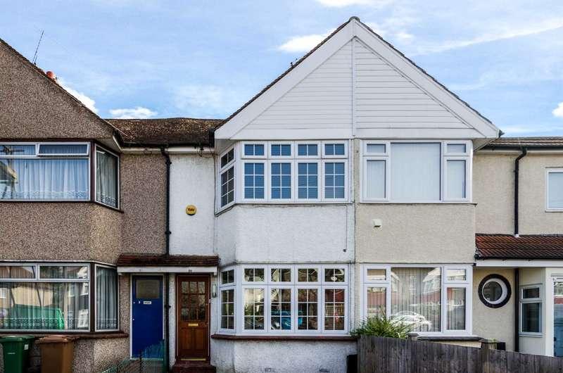 2 Bedrooms Terraced House for sale in Murchison Avenue, Bexley, DA5 3LJ
