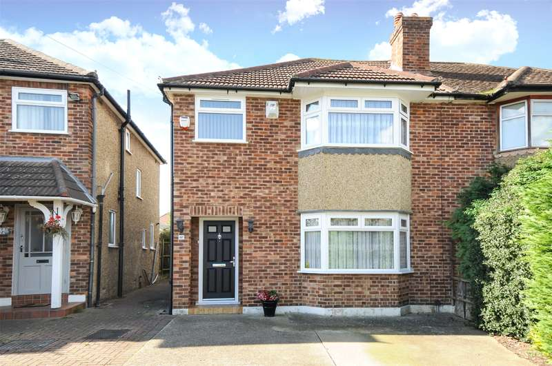 3 Bedrooms Semi Detached House for sale in Queens Walk, South Ruislip, Middlesex, HA4