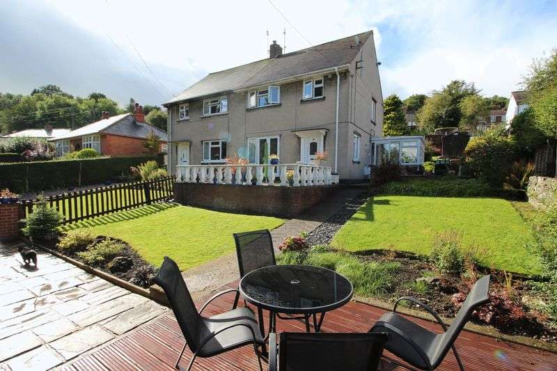 3 Bedrooms Semi Detached House for sale in Maes Yr Afon, Froncysyllte