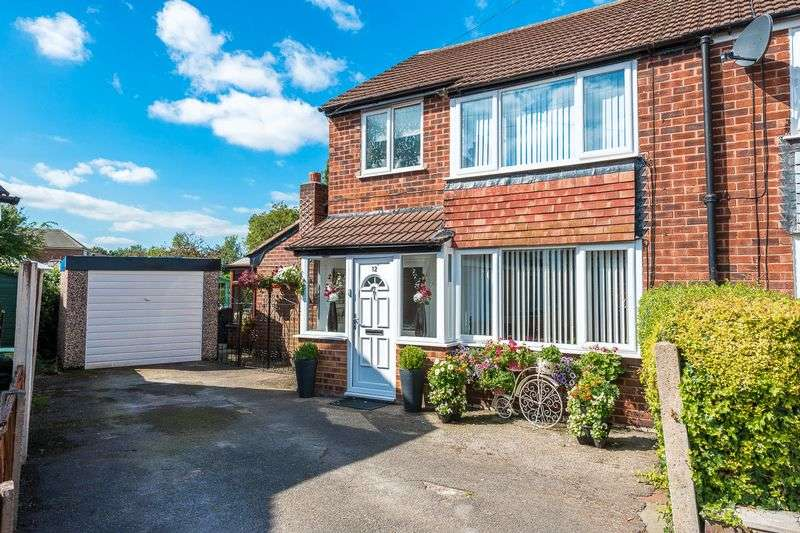 3 Bedrooms Semi Detached House for sale in Walden Close, Warrington
