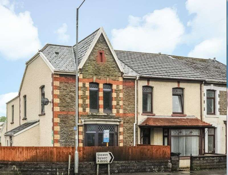 4 Bedrooms Semi Detached House for sale in New Road, Neath Abbey