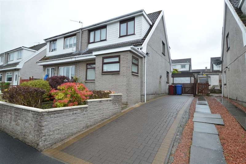 3 Bedrooms Semi Detached House for sale in Blinkbonny, Stonehouse