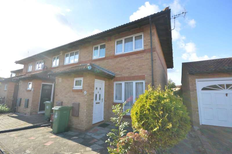 3 Bedrooms End Of Terrace House for sale in Templar Drive, Thamesmead