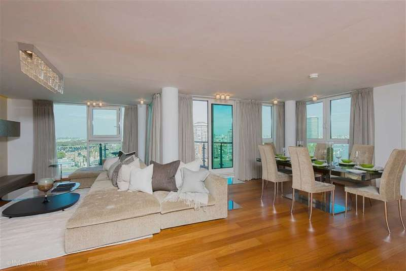 3 Bedrooms Property for sale in Kestrel House, St George Wharf, Vauxhall, London, SW8