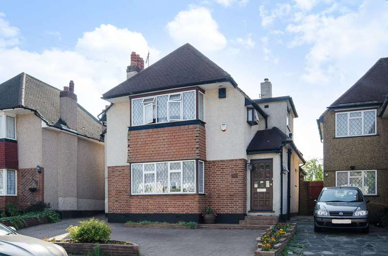 4 Bedrooms Detached House for sale in Mount Pleasant, South Ruislip, HA4