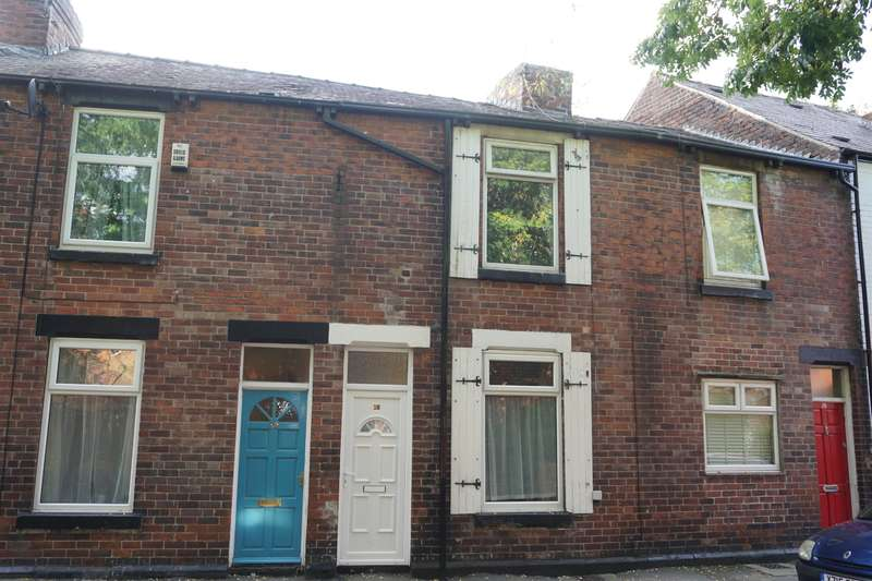 2 Bedrooms Terraced House for sale in Brooklyn Road, Meersbrook, Sheffield, S8 9QL