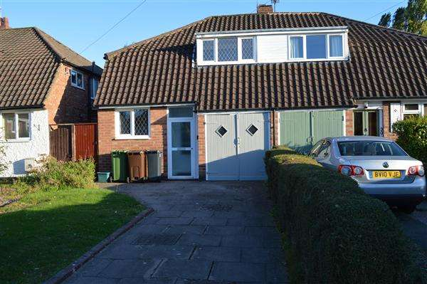 3 Bedrooms Semi Detached House for sale in Mountjoy Crescent, Solihull, Solihull