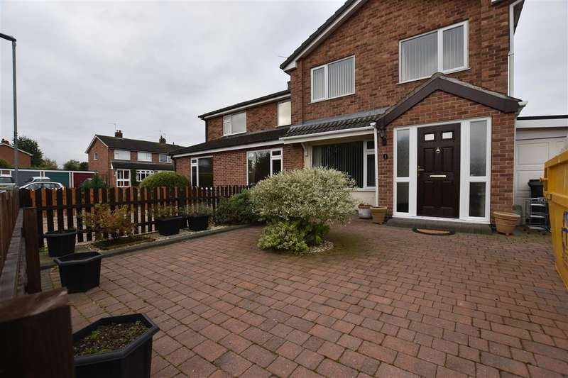 3 Bedrooms Semi Detached House for sale in Derwent Road, Barrow Upon Soar