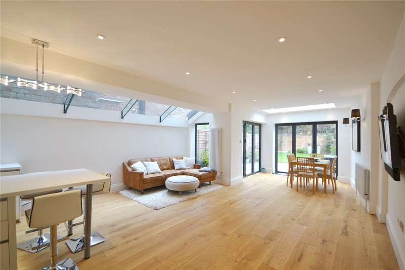 5 Bedrooms Terraced House for sale in Barrington Road, Crouch End, London, N8