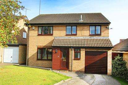 4 Bedrooms Detached House for sale in Cleeve Hill Gardens, Waterthorpe, Sheffield, South Yorkshire