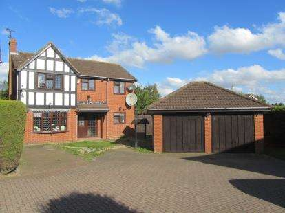 4 Bedrooms Detached House for sale in Rowington Close, Luton, Bedfordshire