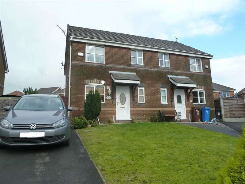 3 Bedrooms Property for sale in Hogarth Rise, Moorside, Oldham