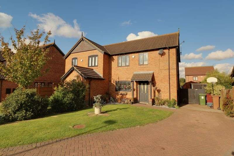 3 Bedrooms Semi Detached House for sale in Oak Grove, Barnetby