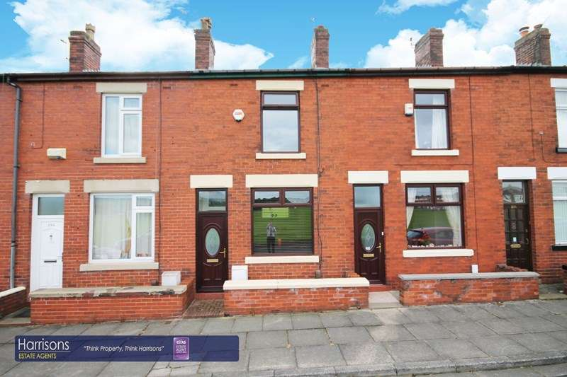 2 Bedrooms Terraced House for sale in Longfield Road, Middle Hulton, Bolton, Lancashire.