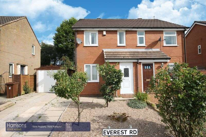 2 Bedrooms Semi Detached House for sale in Everest Road, Atherton, Manchester, Greater Manchester.