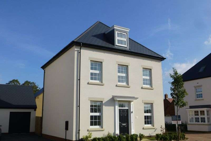 4 Bedrooms Detached House for sale in Wellington Road, Upper Heyford
