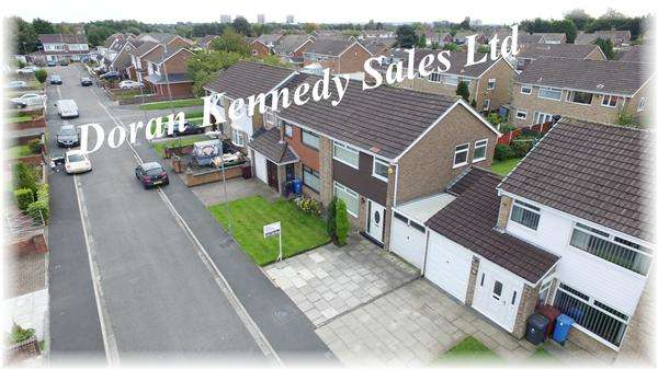 3 Bedrooms Semi Detached House for sale in Malvern Close, Kirkby