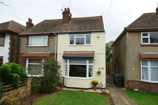 2 Bedrooms Semi Detached House for sale in Glenfield Avenue, Weddington, Nuneaton, Warwickshire