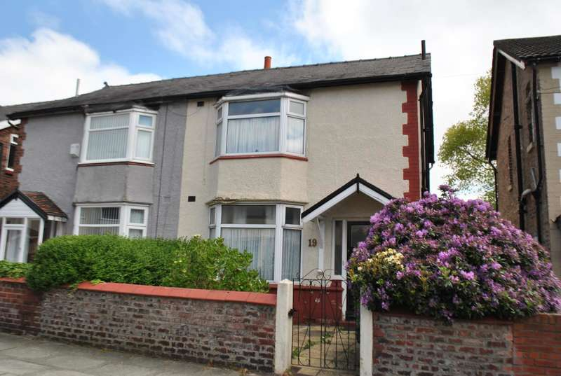3 Bedrooms Semi Detached House for sale in Warnerville Road, Liverpool, Merseyside, L13