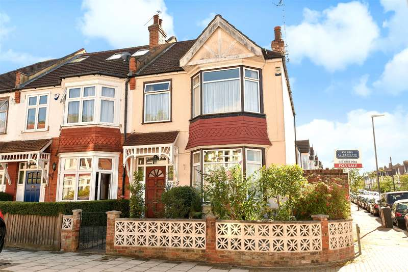 3 Bedrooms End Of Terrace House for sale in Sussex Road, Harrow, Middlesex, HA1