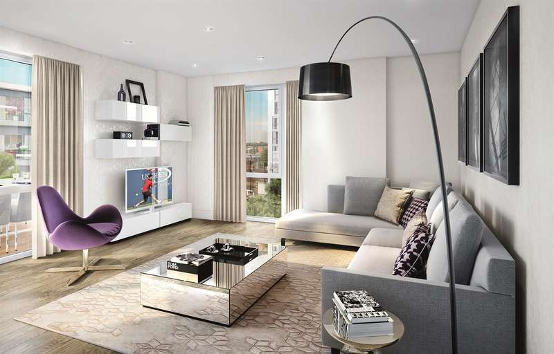 2 Bedrooms Flat for sale in Pinto Tower, Nine Elms Point, 4 Hebden Place, Nine Elms, SW8