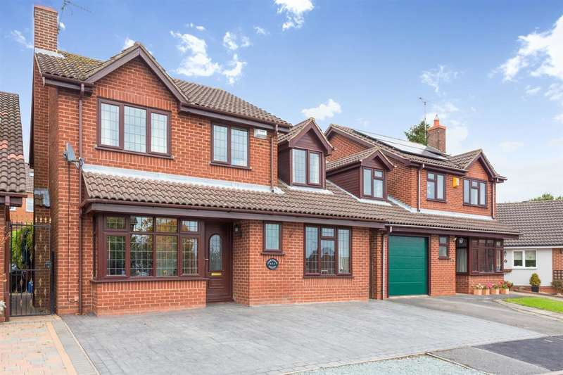 4 Bedrooms Detached House for sale in Oakfield Court, Stanley Common