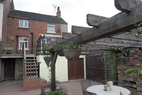 2 Bedrooms End Of Terrace House for sale in Derby Road, Marehay, Ripley