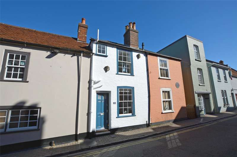 1 Bedroom Terraced House for sale in Captains Row, Lymington, Hampshire, SO41