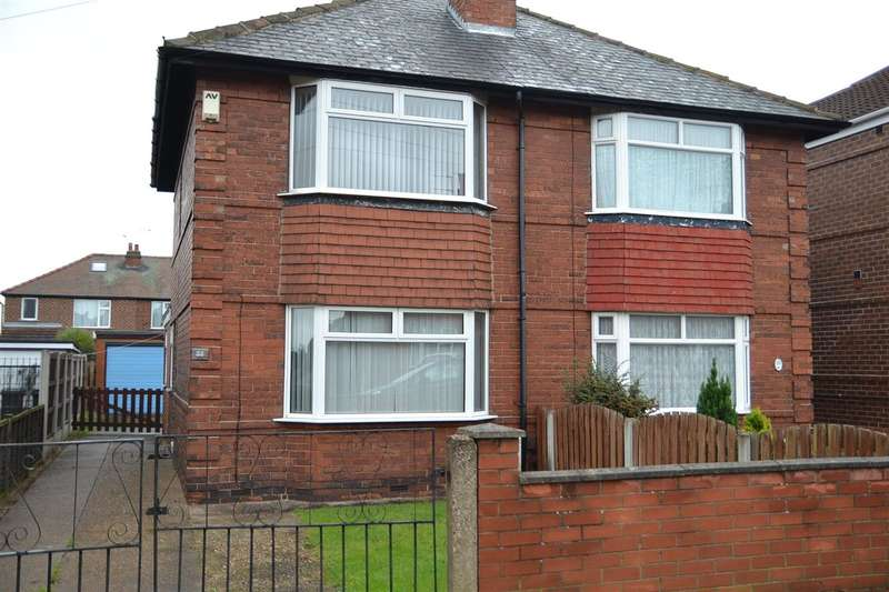 2 Bedrooms Semi Detached House for sale in Masefield Road, Wheatley Hill, Doncaster