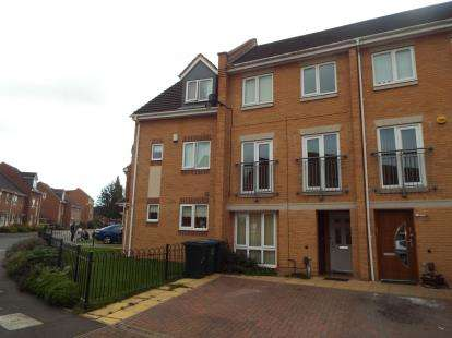 4 Bedrooms Terraced House for sale in Carroll Crescent, Coventry, West Midlands