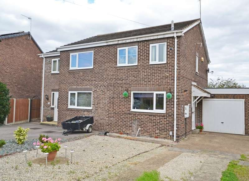 2 Bedrooms Semi Detached House for sale in Barnstone Vale, Wakefield