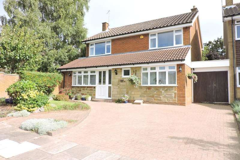 4 Bedrooms Detached House for sale in Upton Close, Luton, Bedfordshire, LU2 7BH