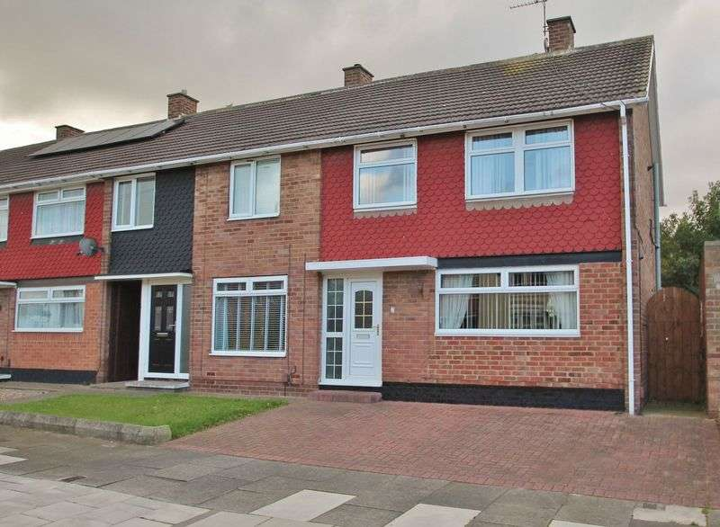 4 Bedrooms Terraced House for sale in Selkirk Close, Saltersgill
