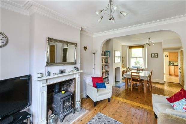 2 Bedrooms Terraced House for sale in Hungerford Road, BATH, BA1 3BX